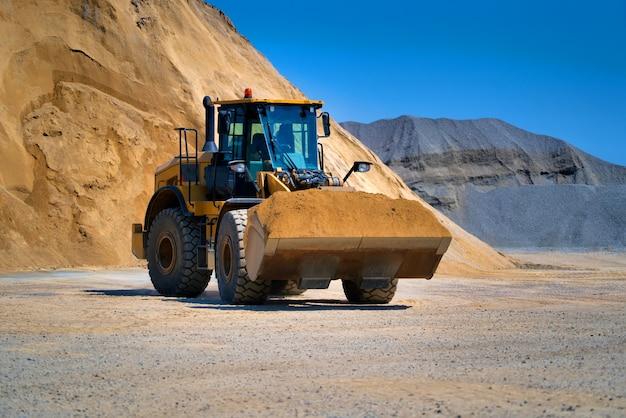Track-type bulldozer, grondverzetmachines Premium Foto