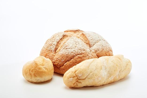 Traditioneel zelfgemaakt stokbrood Premium Foto