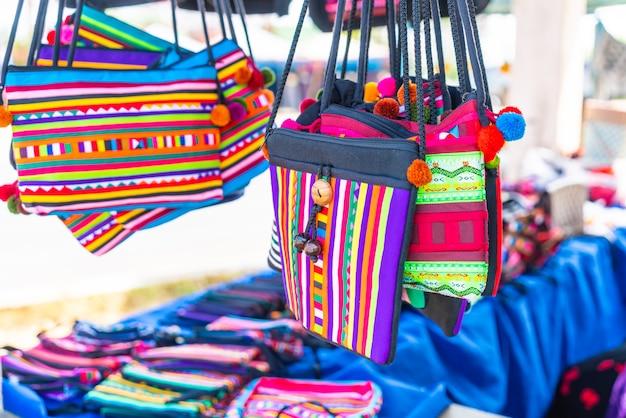 Traditionele tas uit noord-thailand Premium Foto