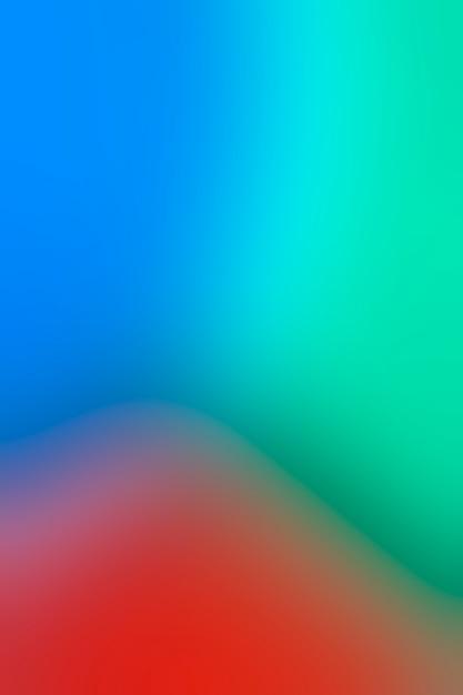 Tricolor array in vervaging Gratis Foto