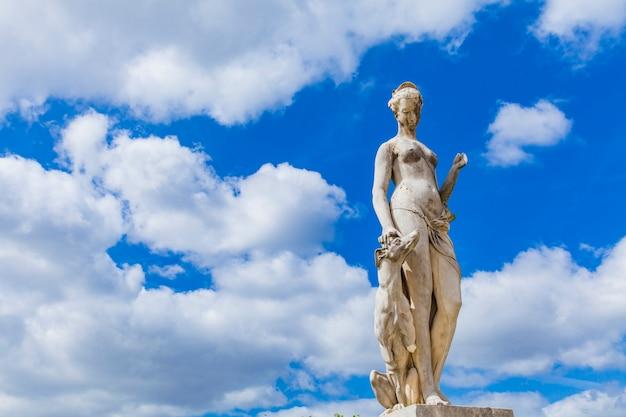 Tuileries-tuin in parijs Premium Foto