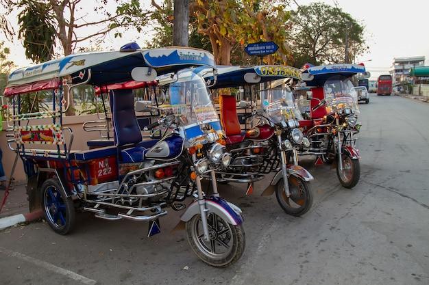 Tuk tuk in thailand Premium Foto