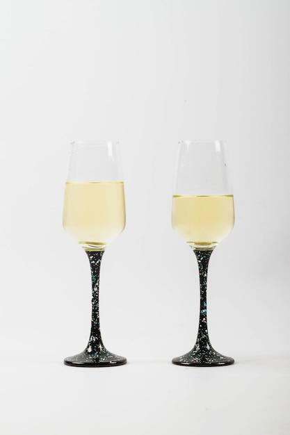 Twee champagneglazen Gratis Foto