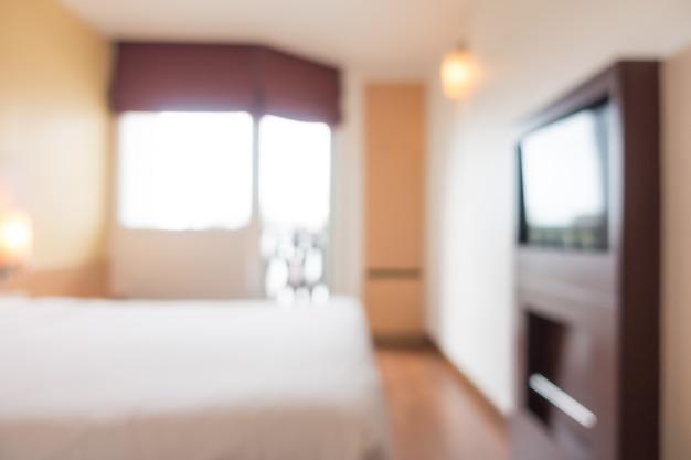 Tweepersoonsbed met een televisie foto gratis download decoratie