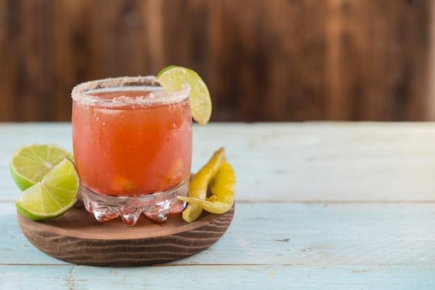 Typische mexicaanse cocktail Premium Foto