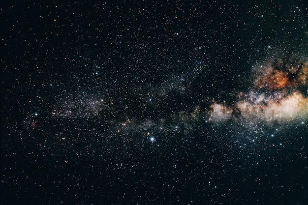 Uitzicht op de aarde vanuit de ruimte Premium Foto