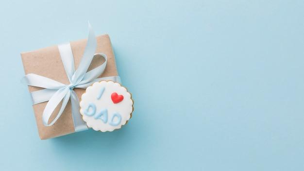Vaderdag arrangement met cadeau Gratis Foto