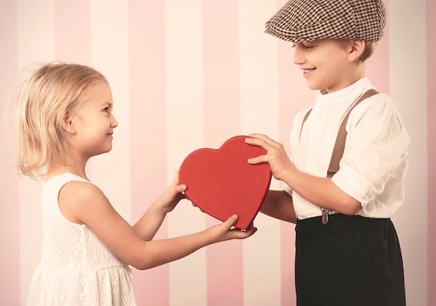Valentijnsdag met grote liefde Gratis Foto