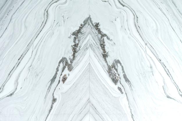 Van wit grijs natuurlijke marmeren textuur achtergrond Premium Foto