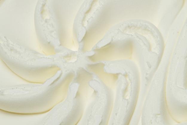 Vanille-ijs Premium Foto