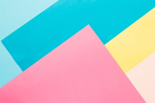 Veelkleurige papier achtergrond Premium Foto
