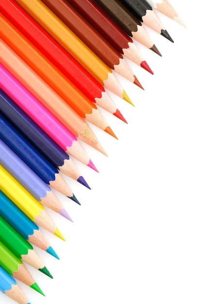 Veelkleurige potloden Gratis Foto