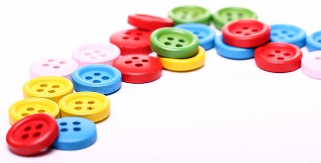 Vele kleurrijke knoppen Gratis Foto