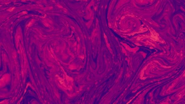 Verbazende rode en blauwe het water abstracte achtergrond van de kunstwerktextuur Gratis Foto
