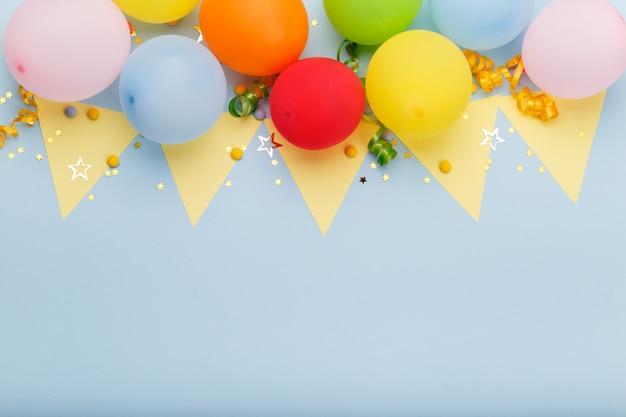 Verjaardag partij achtergrond Premium Foto