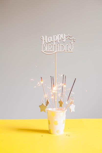 Verjaardagstilleven Gratis Foto