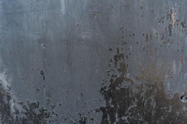 Verontruste bekledingstextuur van geroest gepeld metaal. grunge achtergrond. Gratis Foto