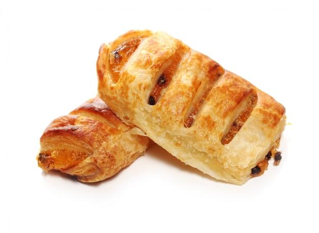 Vers en lekker broodjes met rozijnen Gratis Foto
