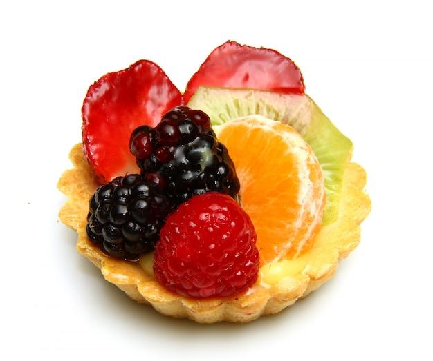 Vers fruit taart Premium Foto