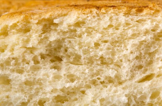 Vers gebakken brood textuur achtergrond Premium Foto
