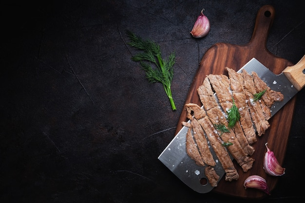Vers gesneden vlees Gratis Foto