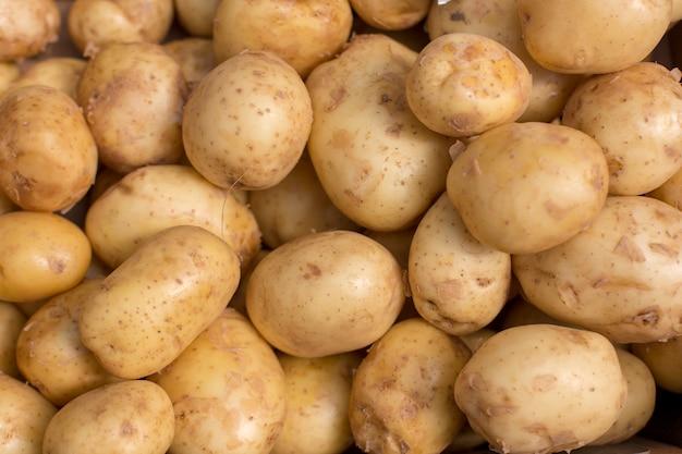 Vers potato abstract kleurrijk fruit Premium Foto