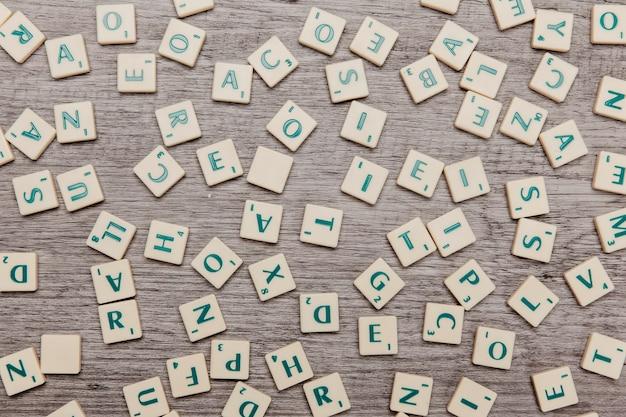 Verschillende letters Gratis Foto