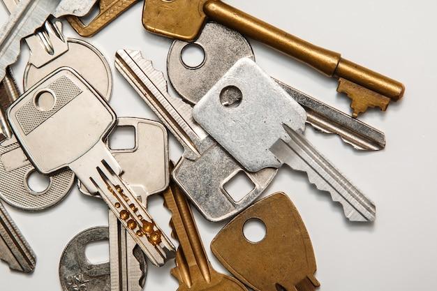Verschillende sleutels Premium Foto
