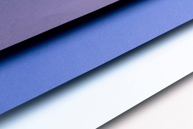 Verschillende tinten blauw patroon Gratis Foto