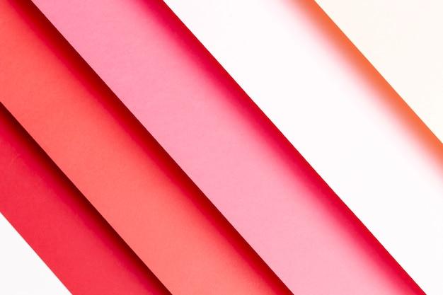 Verschillende tinten rood papier Gratis Foto