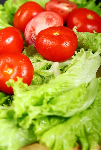 Verse en natte tomaten Gratis Foto