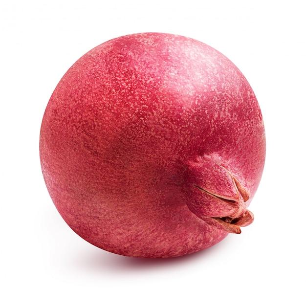 Verse geïsoleerde granaatappel Premium Foto