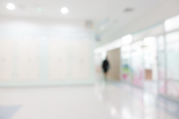 Vervaag het ziekenhuis Gratis Foto