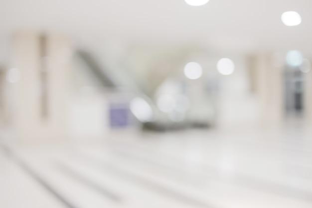Vervagen afbeelding achtergrond van de lobby van het hotel of de corridor Premium Foto