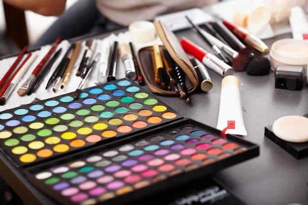 Verzameling van cosmetische Premium Foto