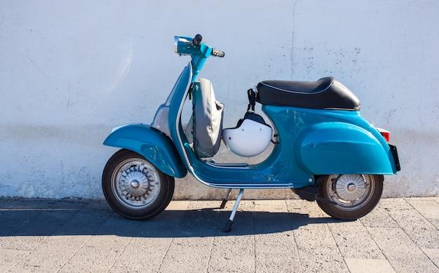 Vespa-motorfiets Premium Foto