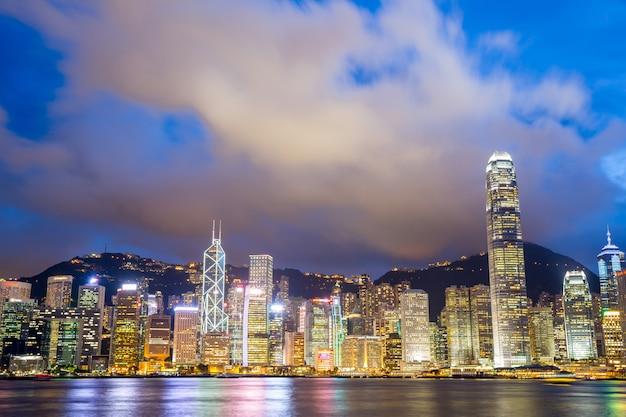 Victoria harbour hong kong Premium Foto