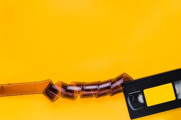 Videoband met celluloid Gratis Foto