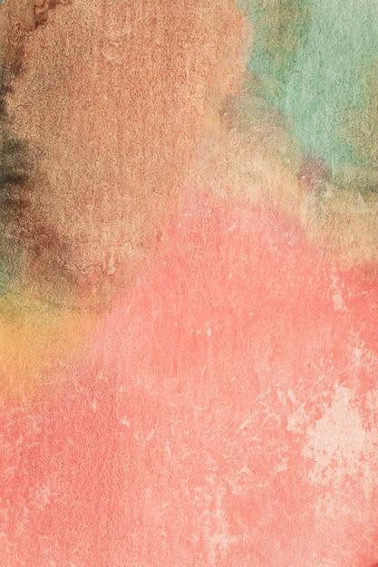 Vintage gradiënt roze handgemaakte techniek aquarel Gratis Foto