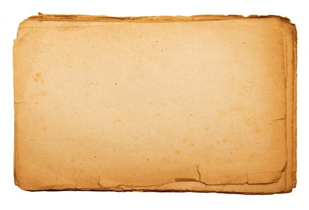 Vintage papier met lege ruimte om te schrijven Premium Foto
