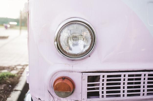 Vintage retro auto Premium Foto