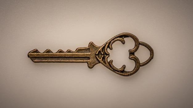Vintage sleutel Premium Foto