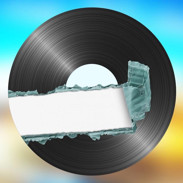 Vinyl op kleur Premium Foto