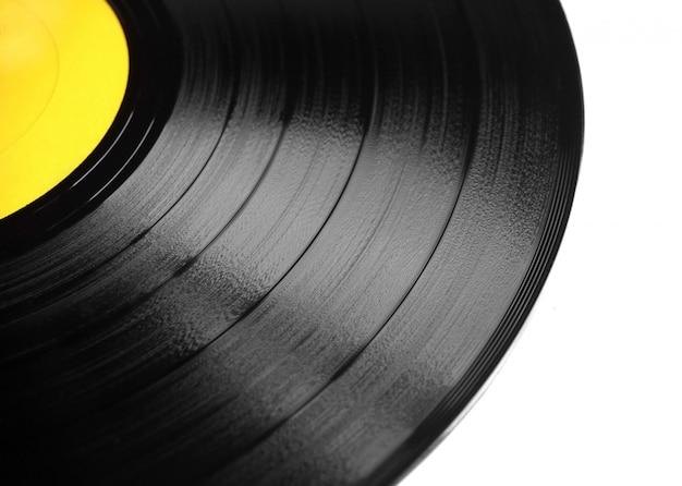 Vinyl plaat geïsoleerd Premium Foto