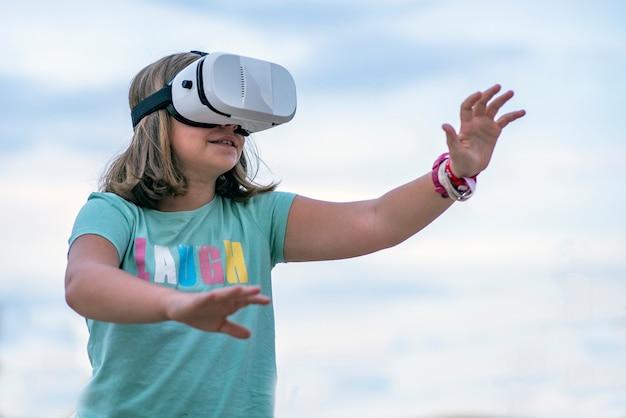 Virtual reality-bril Premium Foto