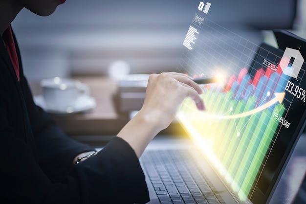 Virtual reality-technologie voor digitale marketing Premium Foto