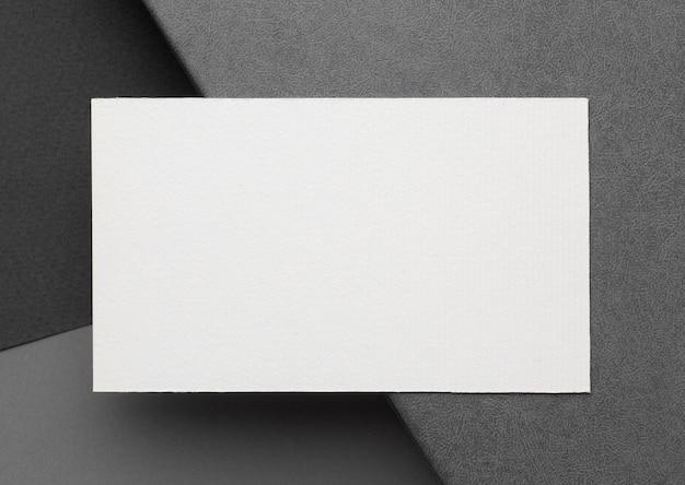 Visitekaartjes met kopie ruimte sjabloon bovenaanzicht Gratis Foto