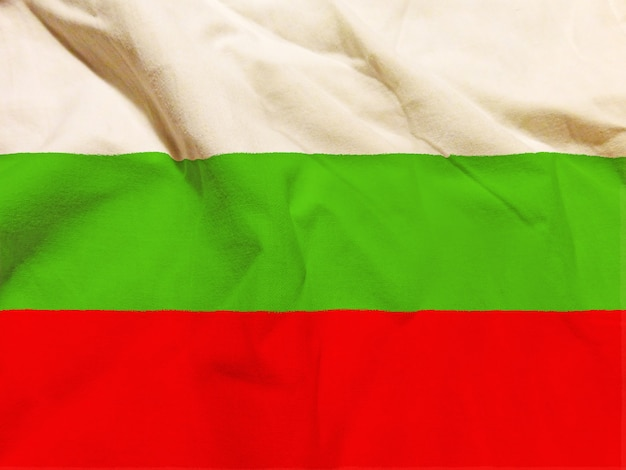 Vlag van bulgarije met textuur op achtergrond Gratis Foto