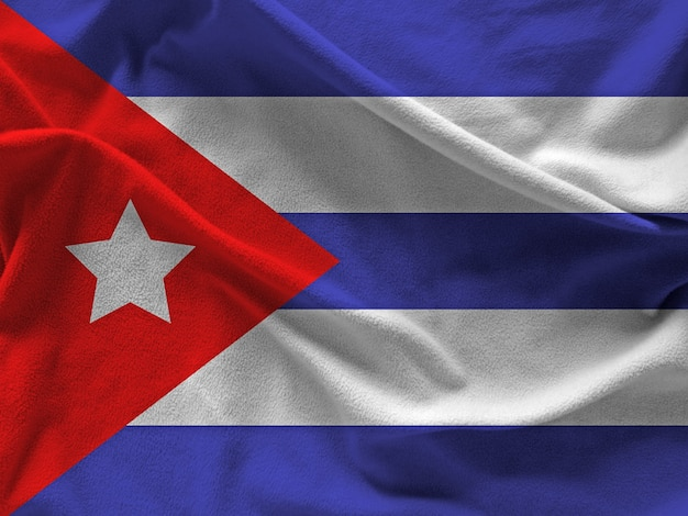Vlag van cuba Gratis Foto