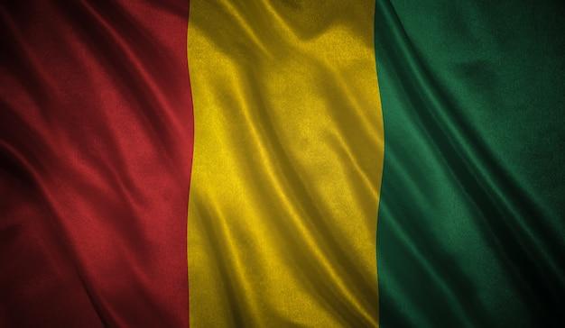 Vlag van guinee Premium Foto